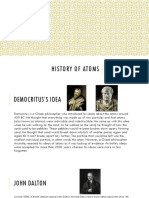 History of Atoms