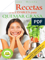 84 Recetas Saludables Para Quemar Grasa M.O