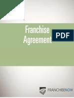 Sample Franchise Agreement FranchiseNow