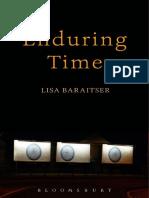 Lisa Baraitser Enduring Time