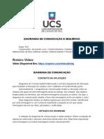 Diagramas de Comunicação e Sequência