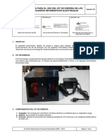 Guía Para El Uso Del Kit de Energía