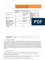 PLAN ANALITICO - META - Sistemas de Automatización