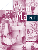 Merit of the Mass (Fr. Ripperger, F.S.S.P.)