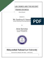 Arun Criminology and Penology