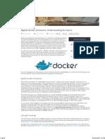 MySQL Docker Containers- Understanding the Basics - Severalnines