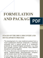 10. Formulation and Packaging