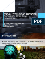 Science Technology and Innovation in Climate Change