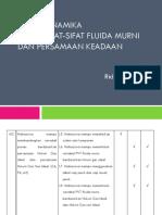 Bab 2. Sifat PVT Fluida Murni Dan Pers. Gas Ideal