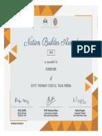 Surender Certificate
