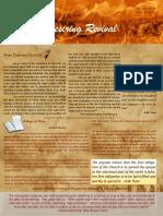Christian Revival Newsletter Oct/Dec 2018