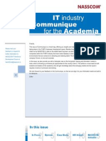 8th Issue-IT Industry Communique for Academia
