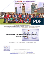INSURANCE & RISK MANAGEMENT  - Sem3 MBA  IRM-Module 2  .pptx