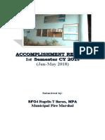 Accomplishment Report 2nd Sem 2017