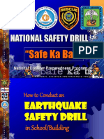 Earthquake Drill for Schools New
