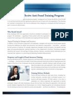 Fraud Training Program