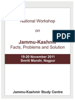 Jammu-Kashmir_Facts, Problems and Solution