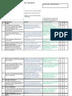 ISO 9001 Audit- Gap Assessment Checklist.
