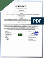 Certificado c826968eu-01.2018 Coopceprovasc