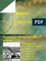 Weapons of World War 1 Ashita