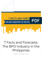 7 Facts and Forecasts- The BPO Industry in the Philippines