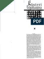 Guy Debord - Gösteri Toplumu