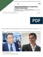 Alfonso Ussía Hiela La Sonrisa de Pedro Sánchez Con Un Espeluznante Vaticinio Penal y Deja Al PSOE de Cobarde Supino