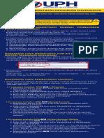 Informasi Administrasi Keuangan Mahasiswa 2018-2019