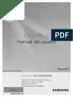 Manual de usuario frigorifico (Nevecon) Samsung
