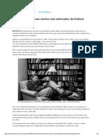 Escritores Lidam Com Mortos Mal Enterrados Da História Brasileira - 28-10-2018 - Ilustríssima - Folha