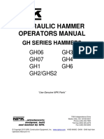 NPK Hydraulic Hammer Operators Manual