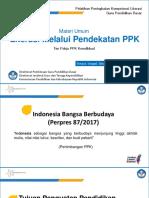 01 Materi Umum 2 - Literasi Melalui Pendekatan PPK - Tim Pokja PPK