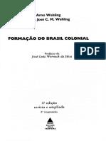 Sociedade e Quadros Mentais. Brasil colonia