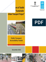Public Transport Accessibility Toolkit