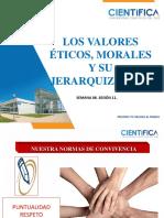 Semana 6 - Sesion 11 - Los Valores Eticos Morales