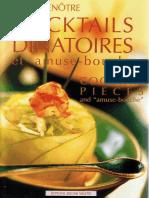 COCKTAIL DÎNATOIRES PIECES. Et Amuse-bouche. and _amuse-Bouche