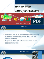 Intro to TOK_ Crash Course for Teachers