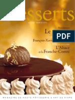 Le Marron. L Alsace Et La Franche-Comté. Tendance. Confession Gourmande François-Xavier Demaison. Itinéraire Épicurien