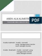 Praktikum asidi alkali