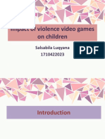 Impact of Media Violence on Children