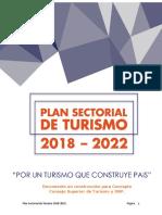 Plan Nacional Sectorial Del Turismo 2018 (1)