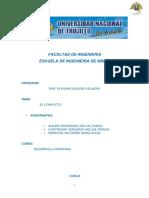 Informe Desarrollo Personal