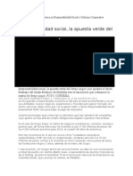 Responsabilidad Social y Gobierno Corporativo