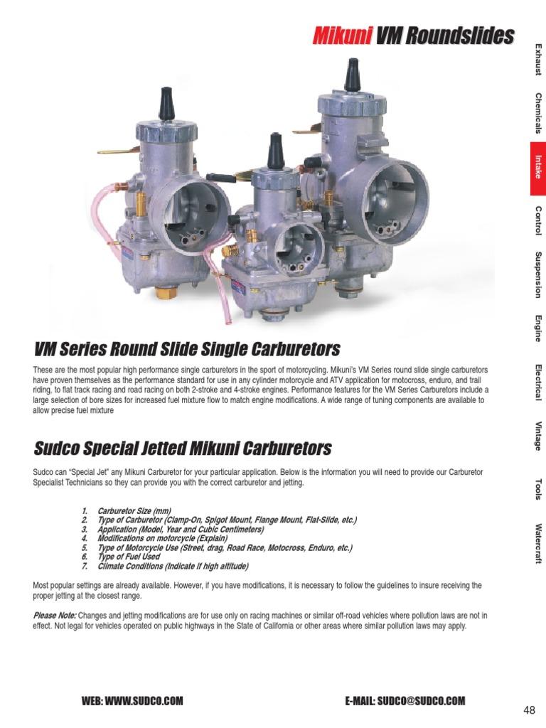 Mikuni Throttle Slide 1.5 VM38//24-1.5