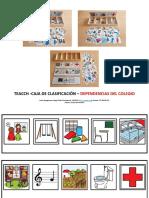 TEACCH Caja Clasificacion Dependencias Colegio