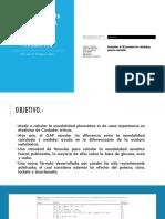 Evaluación de 35 Fórmulas Para Calcular La Osmolaridad Plasmática