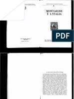 e. Balmas - Montaigne e l'Italia