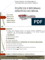 Slides - Pactos Políticos e Reformas Administrativas No Brasil