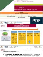 Semana 3 Modelos de Desarrollo en El Perú Actores