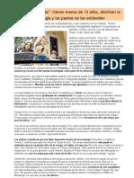 Nativos digitales - Clarín